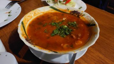 トビリシのカジュアルなジョージア料理レストラン「Racha(ラチャ)」(ジョージア・アゼルバイジャン旅行2019 その10)