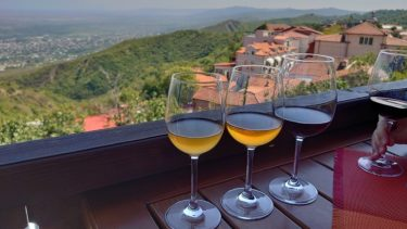 愛の街シグナギ「OKRO'S WINE(オクロズワイン)」でナチュラルワイン テイスティング(ジョージア・アゼルバイジャン旅行2019 その32)