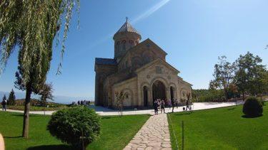 シグナギ ボドベ修道院(ジョージア・アゼルバイジャン旅行2019 その31)