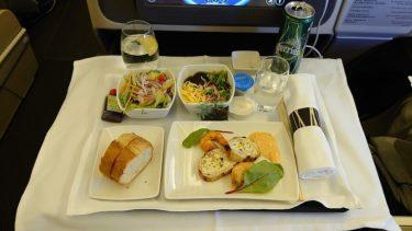 キャセイパシフィック航空 CX543便 羽田>香港 ビジネスクラス(香港旅行2019年秋 その2)