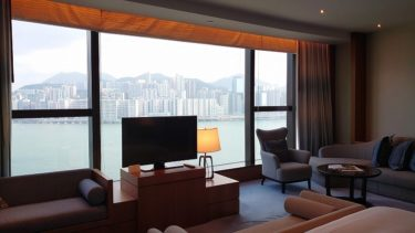 ケリーホテル香港 クラブプレミアシービュールーム宿泊記(香港旅行2019年秋 その3)