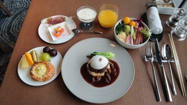 インターコンチネンタル横浜Pier8 ラウンジの朝食