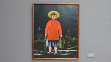 トビリシの国立美術館で放浪の画家ピロスマニの絵画を鑑賞(ジョージア・アゼルバイジャン旅行2019 その37)