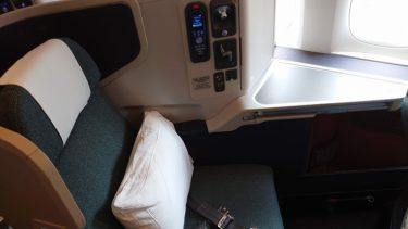 キャセイパシフィック航空ビジネスクラス搭乗記 CX520便 香港>成田 (香港旅行2019年秋 その15)