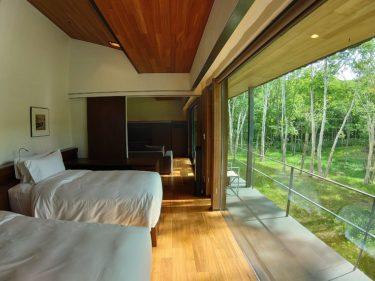 坐忘林 宿泊記2 客室(日本人が旅する夏のニセコ2019 その5)