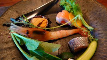 坐忘林 宿泊記4 夕食「キタカイセキ」(日本人が旅する夏のニセコ2019 その7)