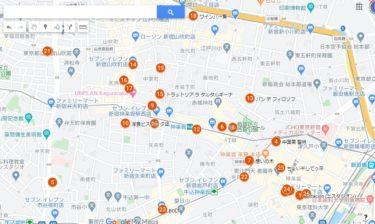 5/30更新 神楽坂・早稲田・江戸川橋 テイクアウトマップ(最終版)
