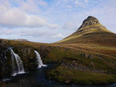 キルキュフェトル山はスナイフェルネス半島で一番有名なフォトジェニックスポット(アイスランド旅行2018 その41)