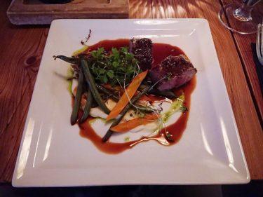 レイキャビクのシーフードレストラン「Forrettabarinn」のディナー(アイスランド旅行2018 その49)