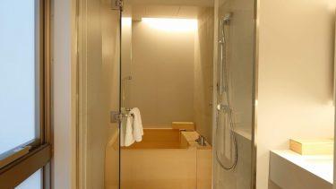 築地「TSUKI」ホテル  プレミアツインルーム宿泊記 檜葉の貸切風呂と海苔弁「山登り」の朝食