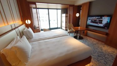 インターコンチネンタル横浜 Pier8 宿泊記2 クラブ ツイン シティビューの部屋