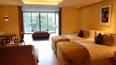 ザ・ひらまつホテルズ&リゾーツ箱根・仙石原 宿泊記2 デラックスツインルームの部屋