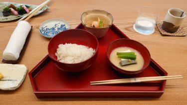 ザ・ひらまつ京都 宿泊記3「割烹いずみ」で京料理の夕朝食(THE HIRAMATSU京都)