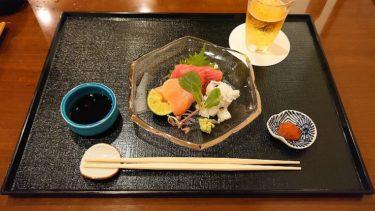 お料理 辰むらの夕食懐石コースと京都の夕景