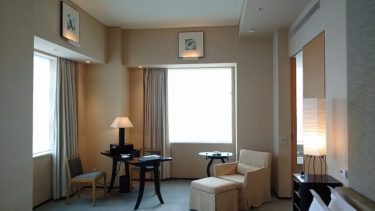 パークハイアット東京 宿泊記2 パークコーナールームの部屋(2020年8月)