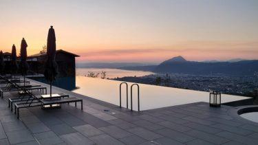 インターコンチネンタル別府3日目 朝風呂で日の出を眺めた後に朝食へ(別府温泉でリモートワークその6 2020年10月)