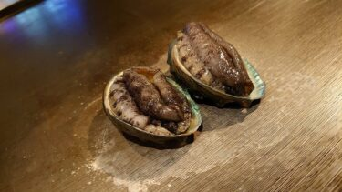 神楽坂「鉄板焼 向日葵」で鮑や伊勢海老、A5ステーキのコースを
