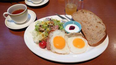 羽生PA下り「PASAR羽生」のROYAL羽生洋食軒で土日祝限定朝食(モーニングメニュー)