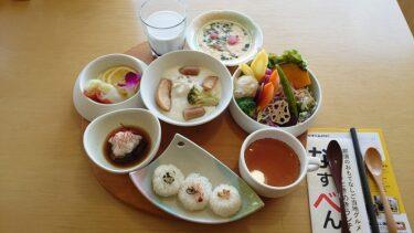 休暇村那須の那須の内弁当(なすべん)ランチ