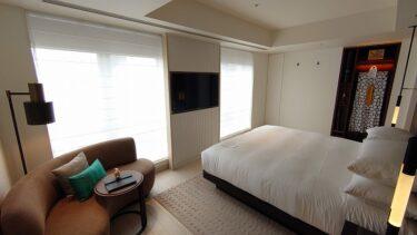 キンプトン新宿東京 ジュニアスイートキングルーム宿泊記1 チェックイン&部屋(2021年3月)