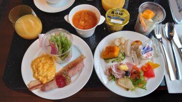 ハイアットリージェンシー横浜 リージェンシースイートツイン宿泊記4 ラウンジの朝食