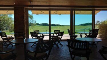 那須ファームビレッジ カフェやレストランと牧場風景