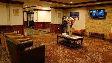 クラウンプラザホテル ニューアーク エアポート 宿泊記(ニューヨーク弾丸旅行2020年2月 その15)