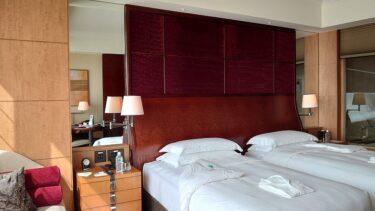 シャングリ・ラ ホテル東京 宿泊記 その1  デラックスガーデンビューのお部屋